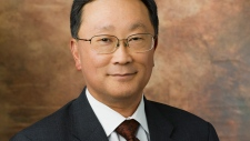 New BlackBerry CEP John Chen