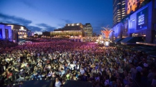 The International Jazz festival in Montreal in this 2007 handout photo. Tourists heading to Montreal this summer will be joining race car drivers, Hollywood stars, internationally renowned musicians and top tennis players as festival season bolsters the regular attractions in the world's second-largest French-speaking city. THE CANADIAN PRESS/ Jean Francois Le Blanc