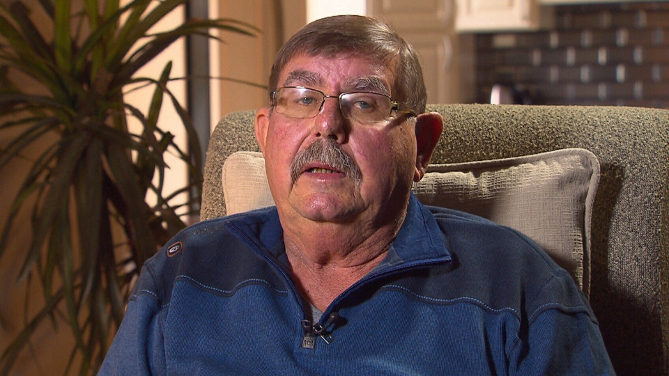 Retired farmer Hugh Detzler is paying $3,600 a month to treat his IPF, but is worried about covering the long-term costs.
