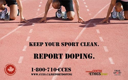 The Canadian Centre for Ethics in Sport has launched an anonymous snitch line where athletes and others connected to sport can report incidents of doping.