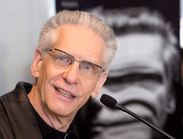 Canadian filmmaker David Cronenberg