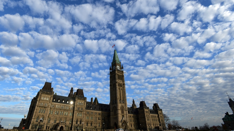 Parliament Hill in Ottawa on Tuesday, Nov. 5, 2013. (The Canadian Press/Sean Kilpatrick)