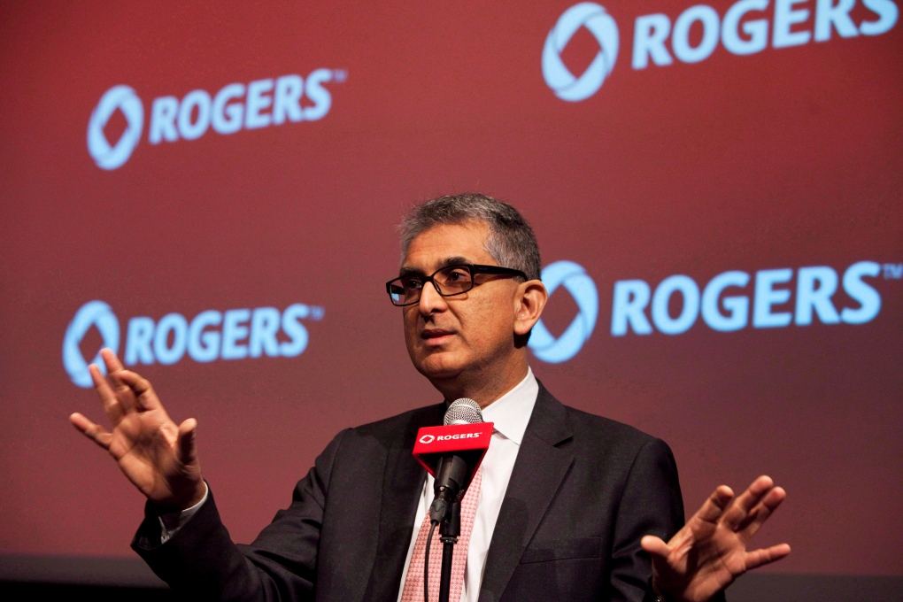 Retired Rogers Communications CEO Nadir Mohamed