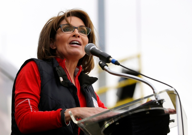 Palin Tour Schedule