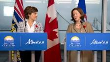 Alberta, B.C. reach pipeline deal