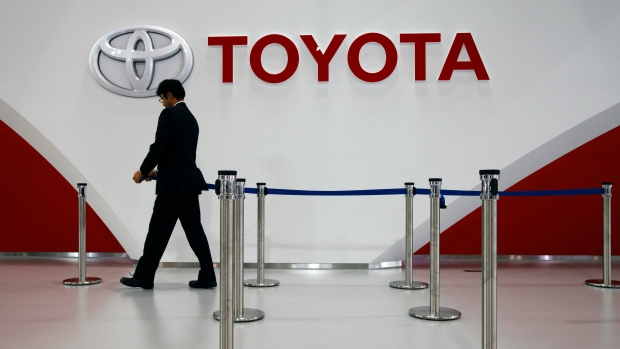 Toyota to Buy $1 Billion Grab Stake in Push to Ride Hailing