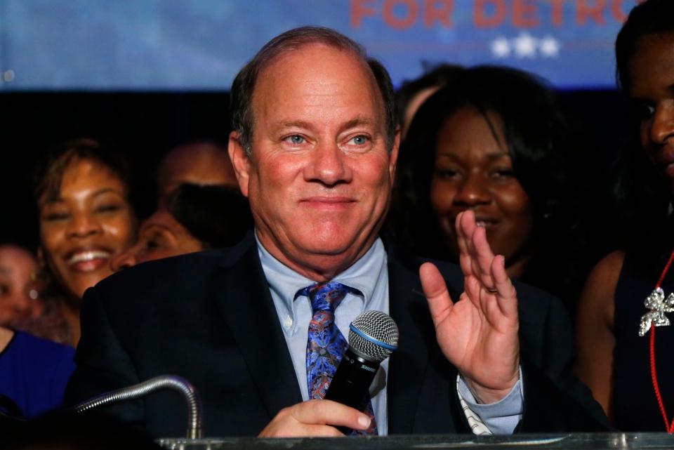 Mayor-elect Mike Duggan