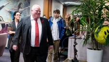 Rob Ford take our Kids to Work Day
