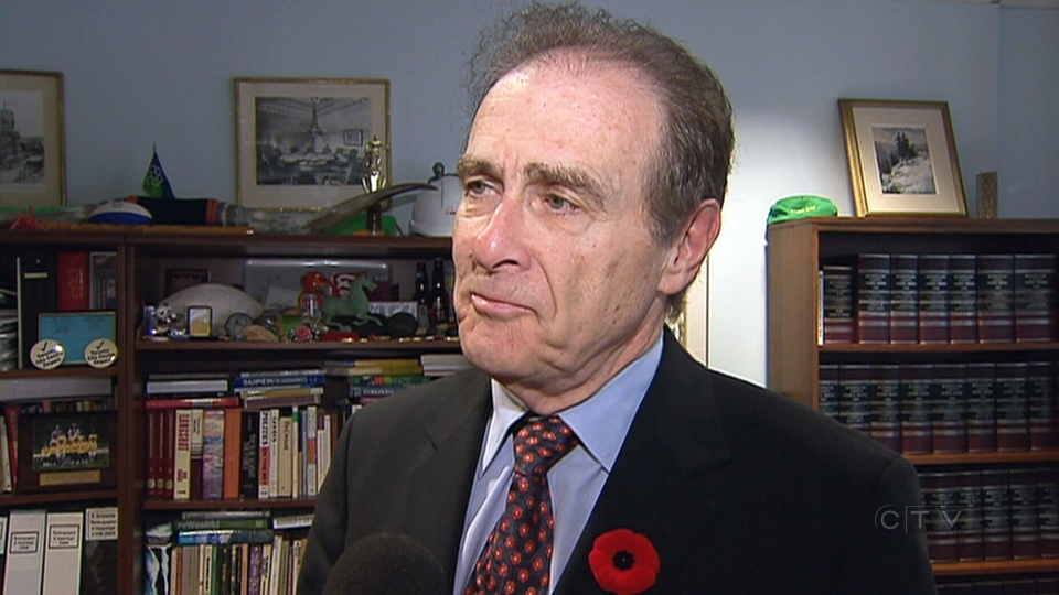 Deputy Mayor Norm Kelly speaks to reporters at city hall in Toronto on Wednesday, Nov. 6, 2013.