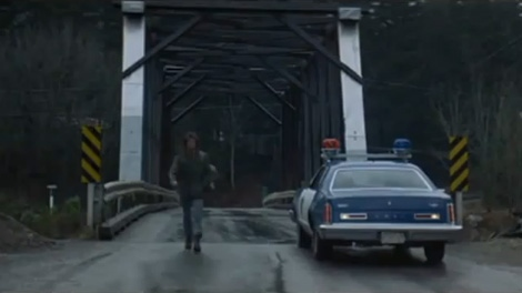 Hope, B C  celebrates 'Rambo bridge' before demolition | CTV News