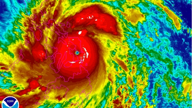 Strongest typhoon of year slams Philippines