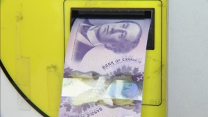 CTV BC: $5 and $10 polymer bills unveiled