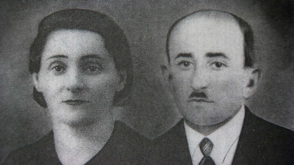 Levin's parents were killed in late August of 1942 in Rokitno, Poland.