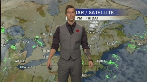 CTV Montreal: Celebrity Weather with Impact star J