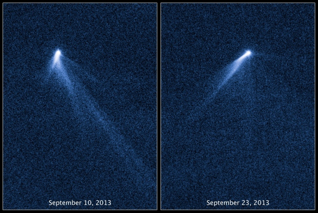 Six-tailed asteroid captured by Hubble Telescope | CTV News
