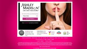 A screen shot of the website AshleyMadison.com is seen. (AshleyMadison.com)