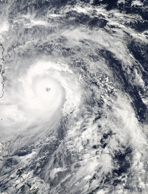 Typhoon Haiyan Nov. 7
