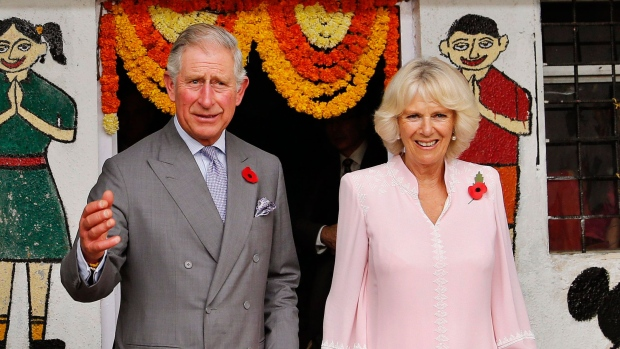 Prince Charles and Camilla in India