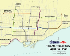 Toronto Transit City - Light Rail Plan