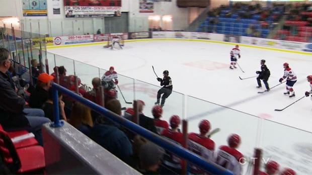 Boy dies, found outside hockey rink