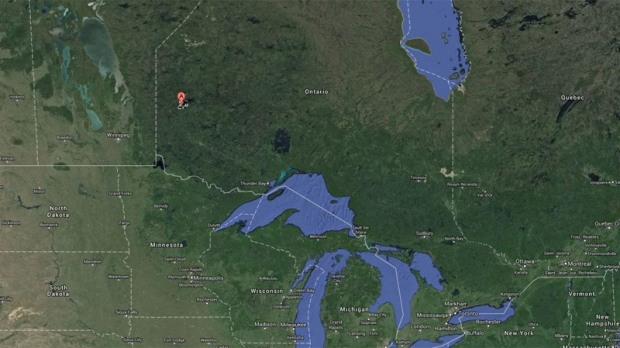 Plane crash near Red Lake, Ont.