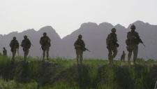 Canadian soldier suicide
