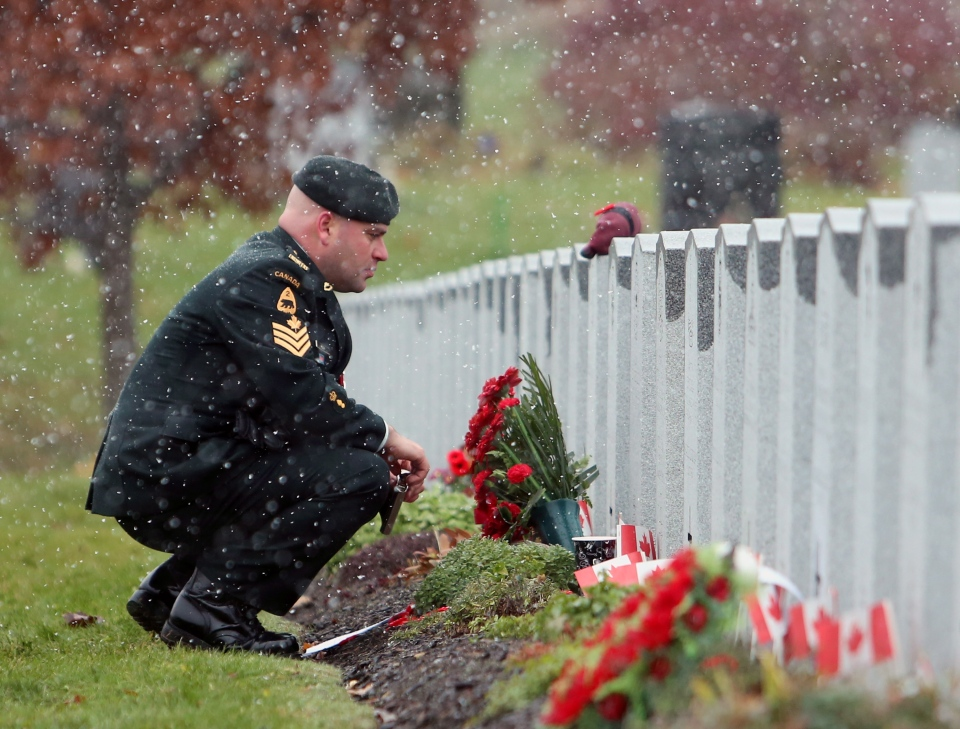 Canadians Commemorate Remembrance Day From Coast To Coast