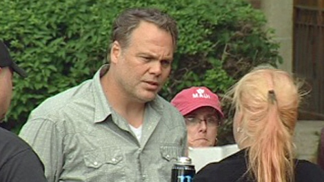 Actor Vincent D'Onofrio is shooting the movie 'Rabbit' in Regina with actress Julia Ormond.