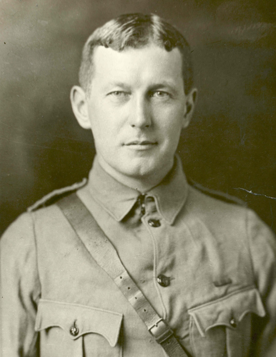 Lt.-Col. John McCrae, author of the famous poem In Flanders Fields, is shown in this undated image. (CP PICTURE ARCHIVE / National Archives of Canada)