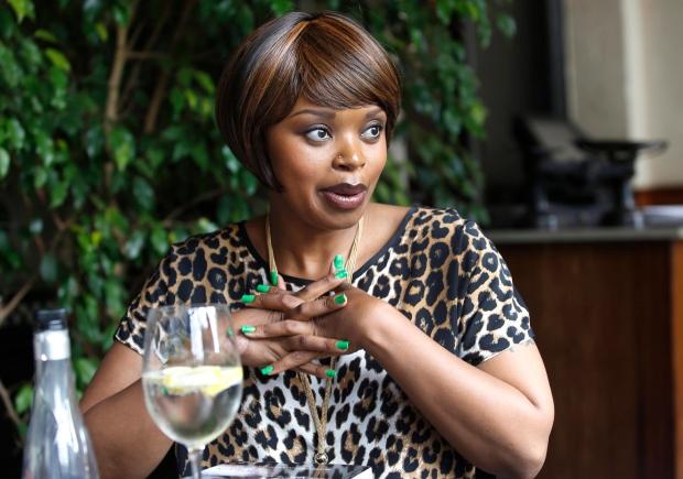 Zoleka Mandela launches book
