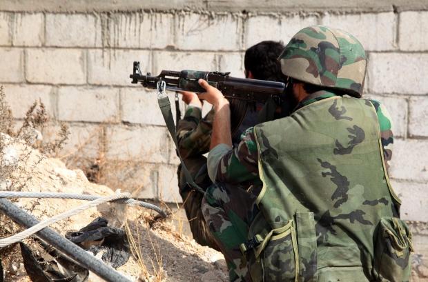 Syria in Damascus - Nov. 8, 2013