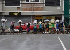 Food, water, medical supplies only trickling in