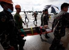 Philippines typhoon Tacloban airport