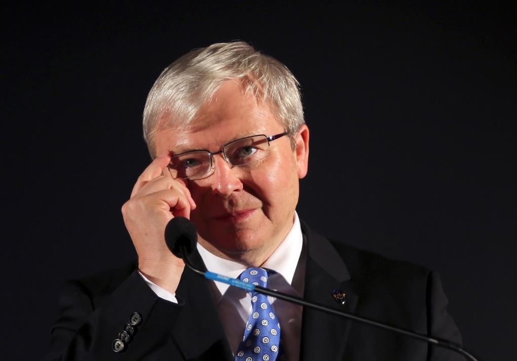 Former Australian Prime Minister Kevin Rudd Quits Politics Ctv News