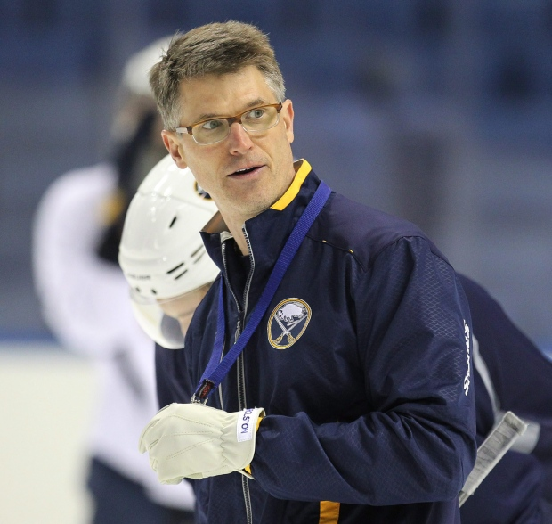 Ron Rolston out as Sabres' head coach
