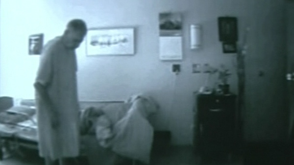 Hidden camera footage taken by the family of a man in a long-term care facility (July 13, 2011)