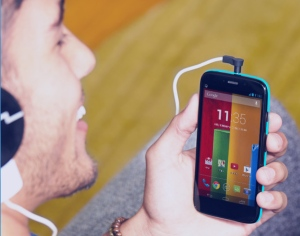 Motorola says it wants to equip the world with the latest smartphone technology, at less than a third the price. (http://www.motorola.ca)