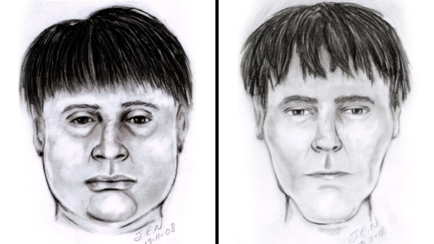 Composite Sketch Leduc robbery suspects