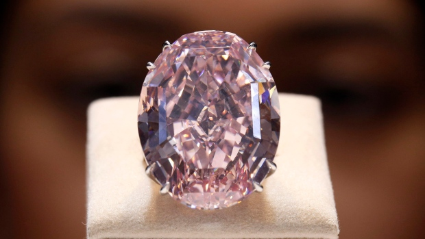 Pink Diamond Sold For A Record Breaking 83 Million At
