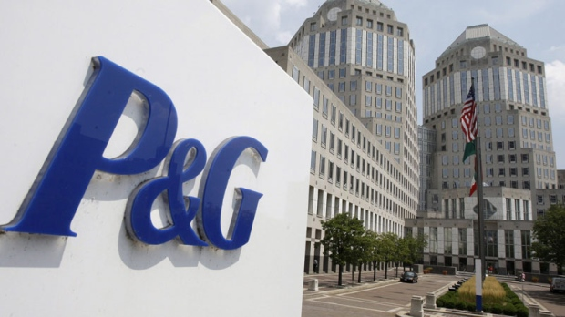 In this Aug. 2, 2010 file photo, the Procter & Gamble Co. headquarters building is shown in Cincinnati. EU regulators on Wednesday fined consumer products companies Procter & Gamble and Unilever a total of �315.2 million ($456 million) for price-fixing on powdered laundry detergent together with Henkel in eight EU countries. (AP Photo/Al Behrman, file)