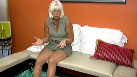 Dixie Simpson has been ordered to shut down her fish pedicure operation in Duncan. July 14, 2011. (CTV)