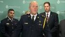 Toronto Police chief Bill Blair makes an announcement on Project Spade, Thursday, Nov. 14, 2013.