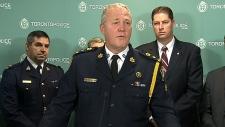 Toronto police Project Spade arrests