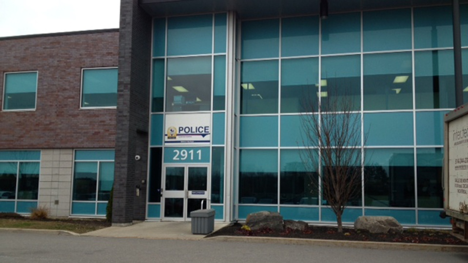 Police headquarters in Laval