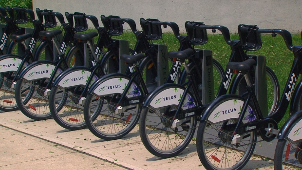 Bixi bike share