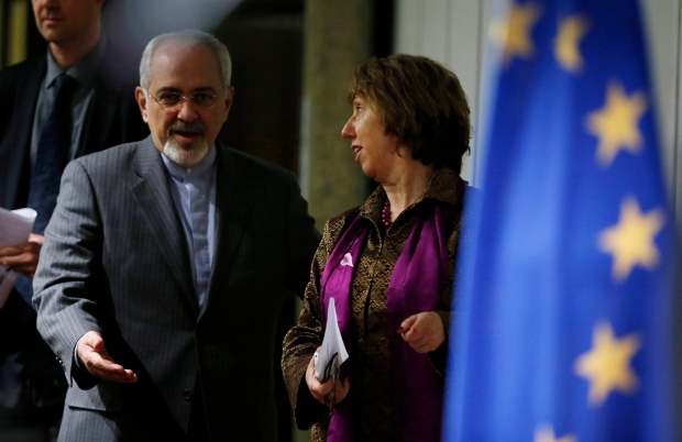 Iranian Foreign Minister Javad Zarif.