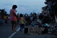 Philippines typhoon Haiyan aftermath