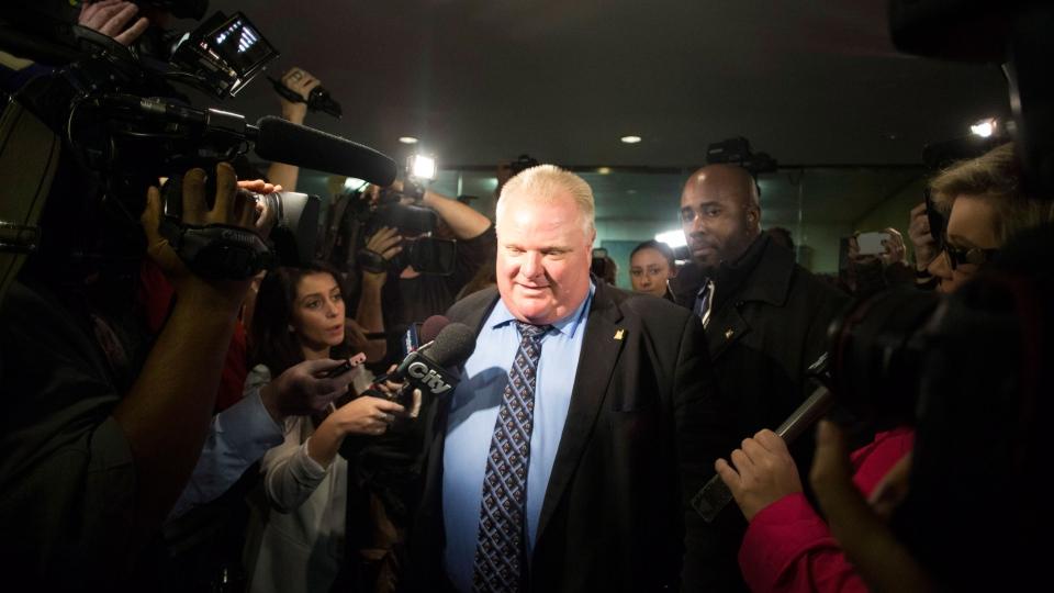 Rob Ford threatens legal action after losing power