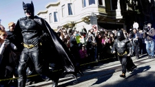 Boy battling cancer becomes 'Batkid'