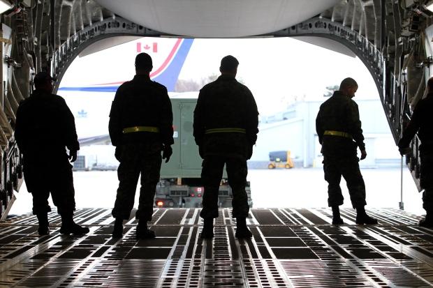 Canada sending soldiers to Ukraine